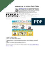 MakeBeliefsComix Para Crear Tus Propios cómics Online