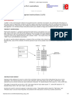 Ladder Diagram Instructions