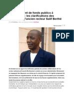 News From Mali