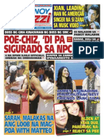 Pinoy Parazzi Vol 8 Issue 95 August 05 - 06, 2015