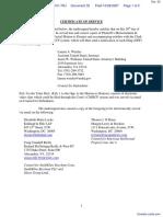 Tafas v. Dudas et al - Document No. 32