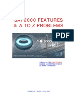 SAP-2000 Featuters and ATO Z Problems Book
