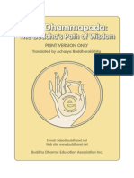 The Dhammapada the Buddha's Path of Wisdom