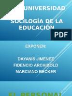 El Personal de Educacion.