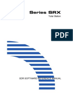 SRX SDR Software Reference Manual