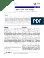 The Anaemia Plasmodium Vivax