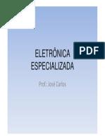 ELETRÔNICA ESPECIALIZADA 2015