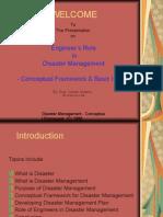 disastermanagementconceptualframeworkbasicissues-12782764599815-phpapp02