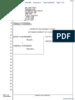 Vanginderen v. Cornell University - Document No. 3