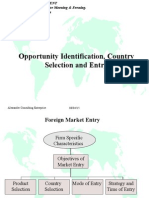 Foreign Country Selection..Ppt