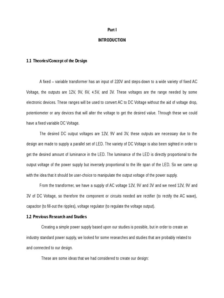 Power Supply Rectifier 1 To 9v Variable Desktop