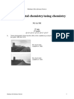 Year 9 - Environmental Chemistry - Using Chemistry