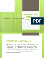 History of Bank in Pakistan