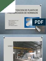 Automatizacion de Fabricación de Prefabricados de Hormigon