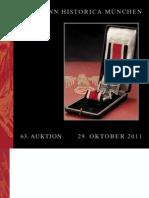 Deutsche Zeitgeschichte Ab 1919 - German Historical Collectibles 1919 to the Present (Auktion #63)