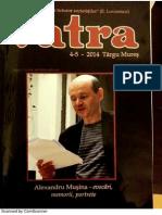 Senida Denissa Poenariu_Vatra 4-5-2014, Alexandru Musina Profesorul Meu de Scriere Creatoare