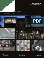 Sylvania Interior Luminaires Catalogue 2013 - Recessed Modular - En-En