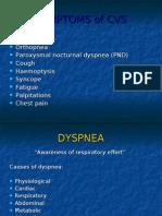 Symptoms of Cvs