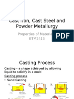 Cast Iron, Cast Steel and Powder Metallurgy.pptx