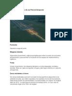 Elementos Principales de Una Pista de Aeropuerto