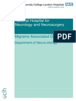 Migraine Associated Dizziness