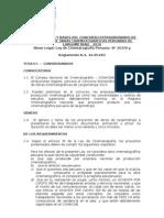 Convocatoria y bases del concurso de Largometrajes Conacine 2010
