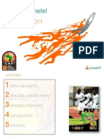Sonatel Projet de Publication Resultats 2011
