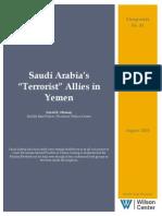 "Saudi Arabia's ""Terrorist"" Allies in Yemen"