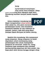 PMR BM Karangan Kebaikan Menabung for Valdor 2012 Term2 F2