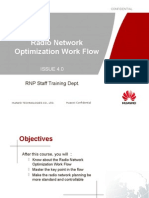 Radio Network Optimization Flow 20090429 a 4.0