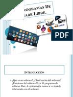 Los 10 Program as de Software Libre
