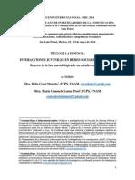 Interacciones Juveniles en Redes Sociales Digitales. Crovi, D., Lemus M.C.