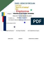 La Nueva Diploma 15513