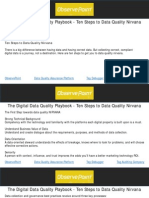 The Digital Data Quality Playbook - Ten Steps to Data Quality Nirvana