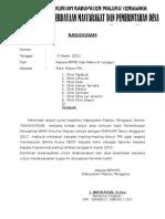 Surat Tindak Lanjut Inspektorat
