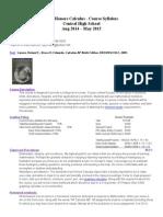 2014-2015 syllabus calculus i