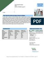 Orçamento - Sistema Semi-Automático Para Dosagem e Fechamento de Embalagens - Agrimaqui (Orc:166333)