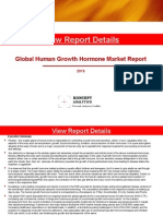 Global Human Growth Hormone Market Report