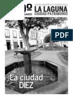 La Laguna 10 Aniversario Patrimonio de La Humanidad