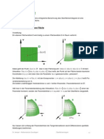 Oberflächenintegeale für Physiker