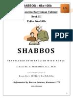 12c - Shabbos - 66a-100b