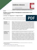 Utility of Hemodynamic Monitorization in The