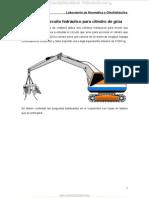 Material Analisis Circuito Hidraulico Cilindro Grua Transporte Chatarra Neumatica Oleohidraulica