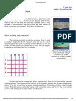 How a Key Matrix Work