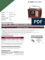31AGM Trojan Data Sheets