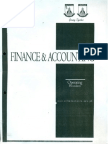 Finance & Accounting (Chapter 4 & 8)