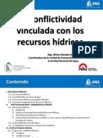 Módulo 1 Tema 4 PPT ANA La Conflictividad Vinculada Con Los Recursos Hídricos