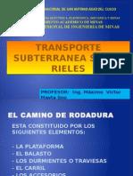 EQUIPO DE TRANSPORTE SOBRE RIELES Y LIMPIEZA 2010.II.pptx