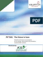 PVSOL Brochure