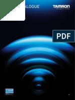 Tamron Lens Catalogue 2014 A4 en Web